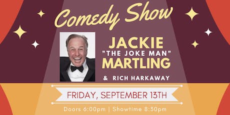 "Comedy Show with Jackie ""The Joke Man"" Martling tickets"