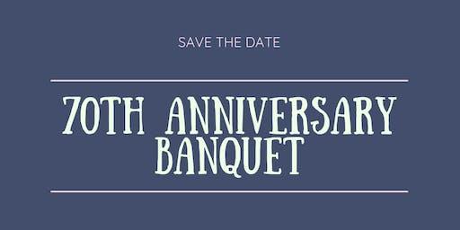 70th Anniversary Banquet