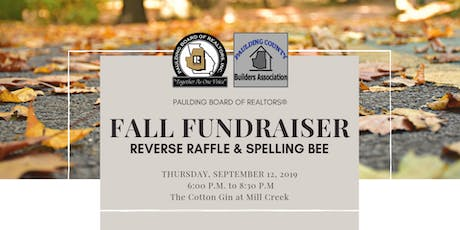 2019 Fall Fundraiser  tickets