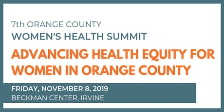 2019 Orange County Women's Health Summit tickets