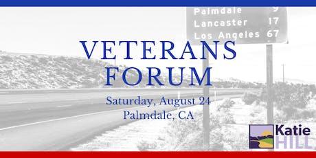 Veterans Forum tickets