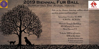 2019 Biennial Fur Ball Supporting The Animal Haven