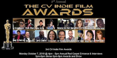 3rd Annual 2019 CV Indie Film Awards tickets