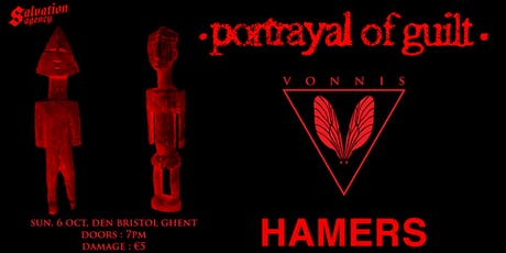 Portrayal of Guilt (US) / VONNIS / HAMERS tickets