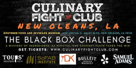 Culinary Fight Club - NOLA: The Black Box Challenge tickets