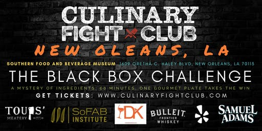 Culinary Fight Club - NOLA: The Black Box Challenge