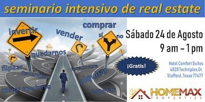SEMINARIO INTENSIVO DE REAL ESTATE - Agosto 24, 2019