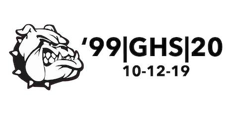Greenwood High School Class of '99 20 Year Reunion tickets