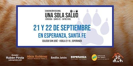 Conv. Regional UNA SOLA SALUD Córdoba - Santa Fe - Entre Ríos entradas