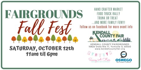 Fairgrounds Fall Fest - Savvy A-Fair Goods and Services Market Registration tickets