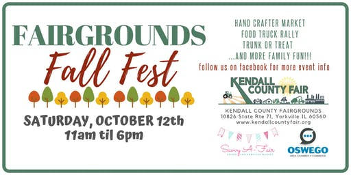Fairgrounds Fall Fest - Savvy A-Fair Goods and Services Market Registration