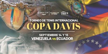 2019 Davis Cup Venezuela Vs Ecuador GRUPO I - Copa Davis Miami tickets