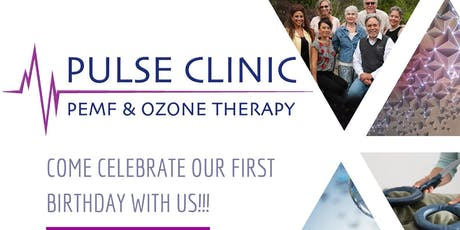 Celebrate Our First Birthday at the Pulse Clinic Tickets, Sun, Aug
