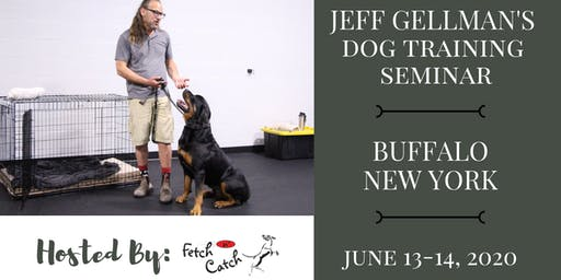 Buffalo, NY - Jeff Gellman Seminars - 2 Day Dog Training Seminar