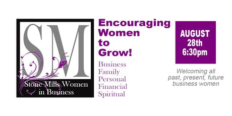 Stone Mills Women in Business _ Event # 1  tickets