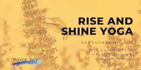 Rise & Shine Yoga - Cornell Lab of Ornithology tickets