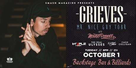 Grieves (Mr. Nice Guy Tour)