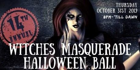 14th Annual NYC Witches Masquerade Halloween Ball  tickets