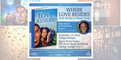 Where Love Resides - Book Market and Release Party tickets