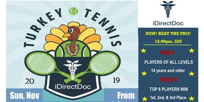 7th Annual iDirectDoc Turkey Tennis Tournament for Disabled American Veterans!