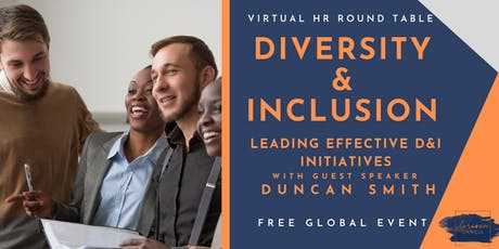 Virtual HR Roundtable - Diversity & Inclusion Practices for People Partners tickets