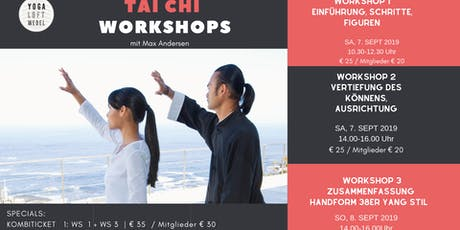 WORKSHOP TAI CHI SEPT 2019 Tickets