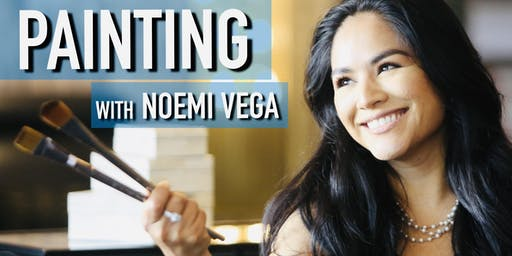 Painting Classes For Adults - Painting with Noemi Vega - Pasadena, CA