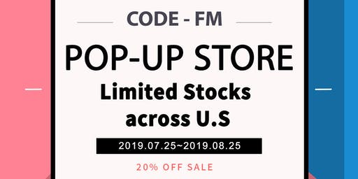 CODE-FM Pop-Up Store