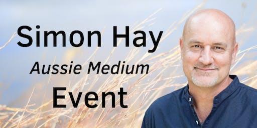 Aussie Medium, Simon Hay at The Mozart Hall, Warrnambool