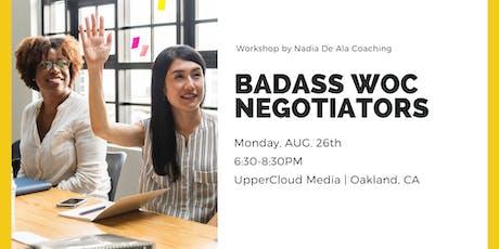 Badass Women of Color Negotiators tickets