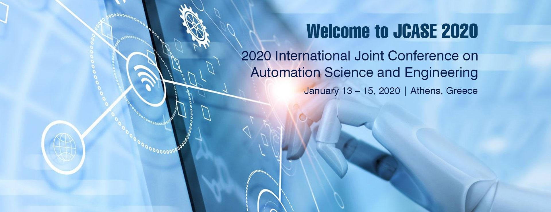 2020 International Joint Conference on Automation Science and Engineering (JCASE 2020)