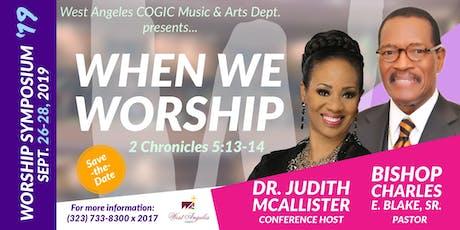 The West Angeles Worship Symposium tickets