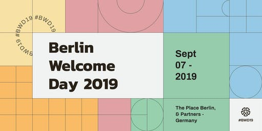 Berlin Welcome Day 2019
