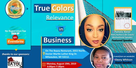 TRUE COLORS RELEVANCE IN BUSINESS; Monday,August 19th , 2019 Christian, Connections & Cupcakes- Hosted By WIW,  Networking Group  tickets