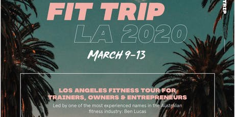 Fit Trip LA 2020 tickets
