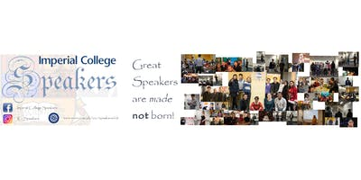 Imperial College Speakers Toastmasters Meetings (Non-Members welcome)