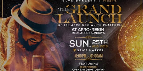"AFRO-REIGN ""RED CARPET"" SUNDAYS tickets"