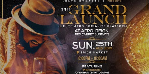 "AFRO-REIGN ""RED CARPET"" SUNDAYS"