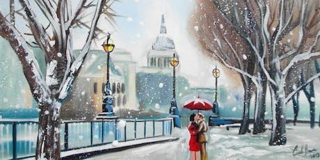 Paint Snowy London! tickets