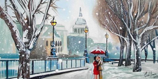 SOLD OUT! Paint Snowy London!