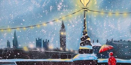 Paint Snowy London! + Wine! tickets