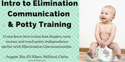 Intro to Elimination Communication & Early Potty Training