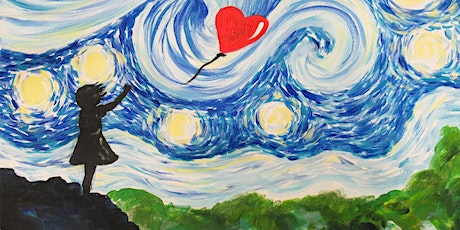 Paint Starry Night Street Art! + Wine & Food! tickets