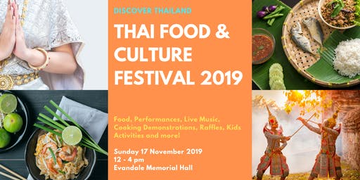 Thai Food & Culture Festival 2019 : Discover Thailand
