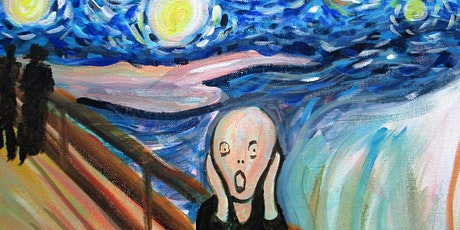 Online Event - Paint Starry Night Scream! tickets