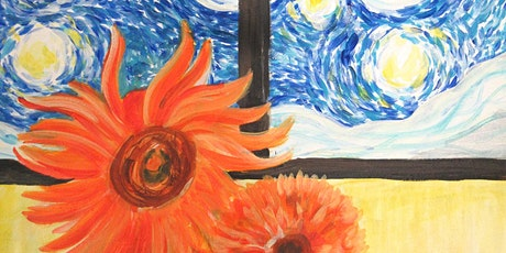CANCELLED Paint Starry Night with Sunflowers! tickets