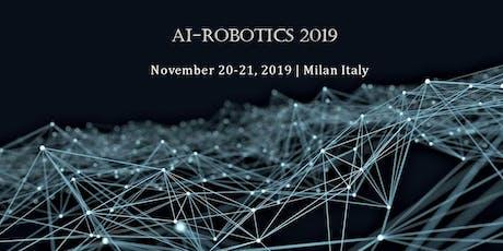 International Summit on Artificial Intelligence & Robotic surgeries tickets