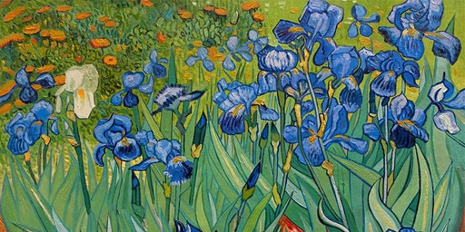 Paint Van Gogh for Mothers' Day!