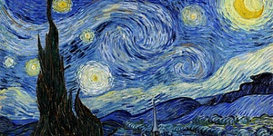 Paint Starry Night! + Wine!