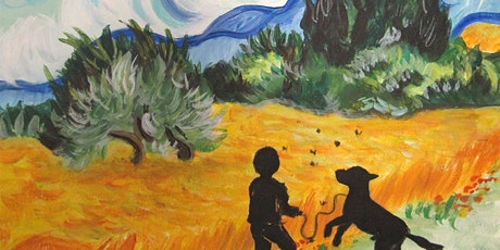 Online Event - Paint Like Van Gogh! tickets
